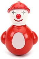 Funworld Joker Roly Poly Rattle (Red)