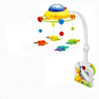 Smart Picks Baby Crib Toy Rattle (Multicolor)