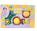 MeeMee Rattles Gift Set - 3pcs (Ball) Rattle - Multicolor