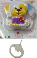 New Pinch Musical Bell Craddle Toy For Infants Rattle (Multicolor)