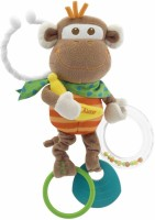 Chicco Multi Activity Vibrating Monkey Rattle: Baby Rattle