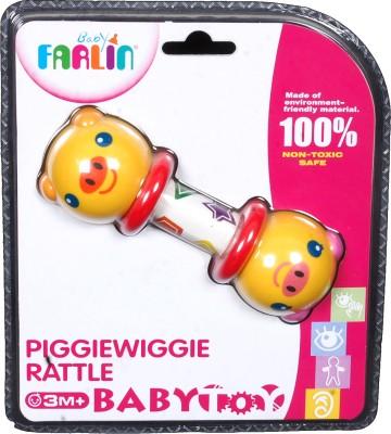 Farlin Baby Rattles Farlin Piggie Wiggie Rattle