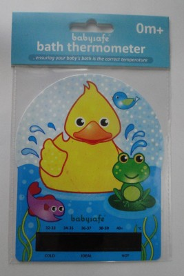 LCR HALLCREST For Baby Bathing Bath Thermometer (Yellow)