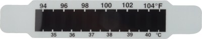 LCR HALLCREST Fever meter Bath Thermometer (White/Black)