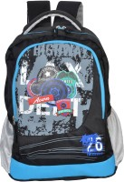 Avon Highway Patrol Black & Blue 26 Litres 30 L Backpack (BLACK, BLUE)