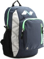 Nivia Trap Back Pack Backpack Navy Blue, Green