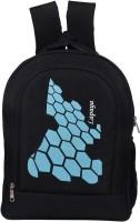 Lapaaya MNLBG28SKYBLUE 30 L Laptop Backpack Black