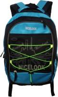 Nicelook SCHOOL BAG 25 L Laptop Backpack Blue