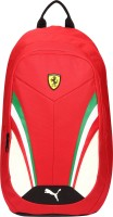 Puma Ferrari Replica 18.5 L Laptop Backpack Rosso Corsa