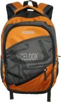 Nicelook School Bag 25 L Laptop Backpack Orange