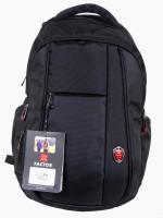 X-FACTOR SCHOOL BAG 30 L Laptop Backpack BLACK