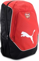 Puma Arsenal Football Backpack - Red, Black And White