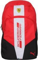 Puma Ferrari Fanwear 2.5 L Backpack Black-Red