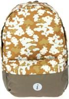 I Printed Designer 16 L Medium Backpack Brown, Size - 420