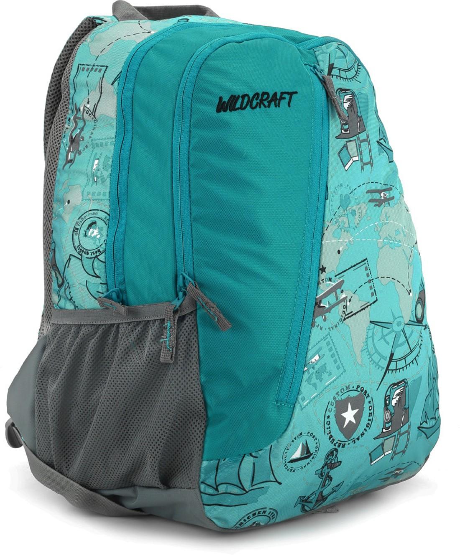 Flipkart bags for school - Wildcraft Moto Vo Backpack Blue Price In India Flipkart Com