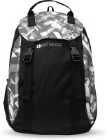 De' Bags Flipper Grey 10 L Small Backpack Black And Grey Graphic Print, Size - 450