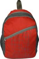 Pandora Light Weight School Bag 20 L Backpack (Red)