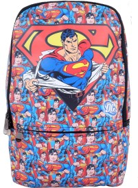 Super Drool Red Comic Laptop 7 L Backpack