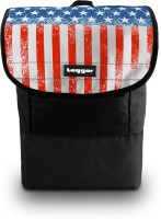 Tagger Phatpack Stars & Stripes Bsly (Black) Executive 18 Inch Revolution 25 L Backpack Black, Red