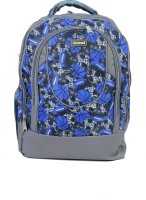 Sk Bags FIREHORSE BALL PRINT (BU) 27 L Laptop Backpack (BLUE)