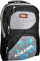 AOBAMA AB25 30 L Laptop Backpack GREY, BLACK