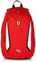 Puma Ferrari 25 L Large Backpack Red, Size - 505