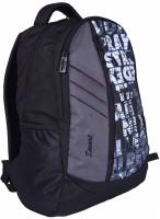 Zwart 114101LPR 25 L Free Size Backpack - Black And Grey