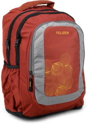 Felizer Medium Size 25 L Backpack (Red)