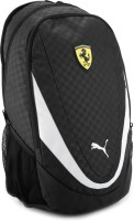 Puma Ferrari Replica Backpack - Black And White