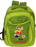 Pandora Premium Quality School Bag 20 L Backpack (Perrot Green)