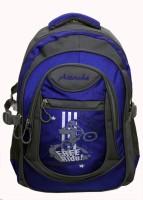 Attache Stylish School Bag (Royal Blue & Grey) 30 L Backpack (Blue)