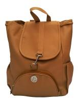 Vintage Stylish Ladies Expandable Backpacks Handbags Mustard Color(bag 125) 2.5 L Backpack Yellow