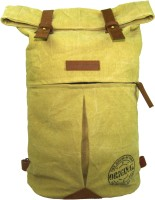 The House Of Tara Distress Finish Canvas 20 L Backpack Desert Storm