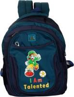 Pandora Premium Quality School Bag 20 L Backpack (Blue, Gray)