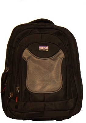 Kingston  American Kingston AKNEW01 2.5 L Medium Trolley Laptop Backpack (Multicolor)