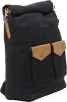 Voloq Everest Canvas Unisex Weekender Roll Top 15 L Laptop Backpack Oxford Blue
