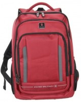 Swiss Military Premium Multi-Utility Bag 15 L Laptop Backpack (RED-1, Size - 44)