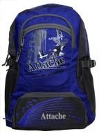 Attache Rocking School Bag (Royal Blue & Grey) 30 L Backpack (Blue)