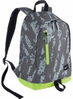 NIKE Aspo Athlete 20 L Small Trolley Backpack Light Grey, Dark Grey, Florescent Yellow, Size - 42