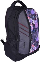 Zwart 114101PPR 25 L Free Size Backpack - Black And Grey