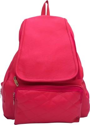 Vintage Elegant Ladies Expandable Backpacks Handbags Pink(bag 148) 12.5 L Backpack Red