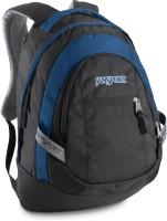 JanSport Trinity 30 L Laptop Backpack Black/Blue Streak