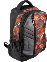 Zwart 114114OR 25 L Free Size Backpack - Black And Grey