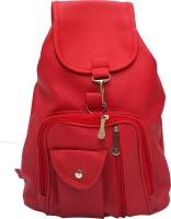 Vintage Stylish Ladies Expandable Backpack Handbag Red(bag 124) 2.5 L Backpack Red