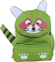 Bleu School Kids Bag - 14 Inches - Baby Elephant Boys Girls Bag - 30 14 L Backpack (Parrot Green)