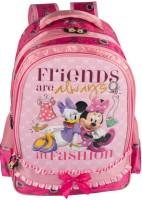 Disney Kids Bag Waterproof Backpack (Pink, 14 Inch)