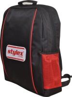 STYLEX Waterproof School Bag (Black, 4 Inch)