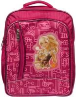 Aarip Mash Bag Waterproof Backpack (Pink, 15 Inch)