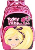 Mattel Kids Bag Waterproof Backpack (Pink, 16 Inch)