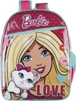 Barbie Waterproof School Bag (Multicolor, 14 Inch)